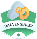Illustration of the Data Engineer badge