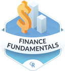 Illustration of the Finance Fundamentals badge