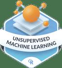 Illustration of the Unsupervised Machine Learning badge