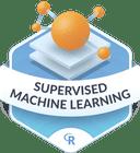 Illustration of the Supervised Machine Learning badge