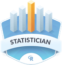 Illustration of the Statistician badge
