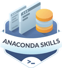 Illustration of the Anaconda Skills  badge