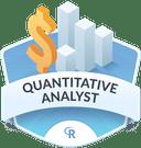 Illustration of the Quantitative Analyst badge