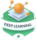 Illustration of the Deep Learning badge