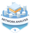 Illustration of the Network Analysis badge