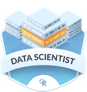 Illustration of the Data Scientist  badge
