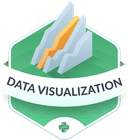 Illustration of the Data Visualization badge