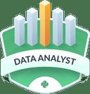 Illustration of the Data Analyst  badge