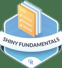 Illustration of the Shiny Fundamentals badge
