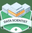 Illustration of the Data Scientist  badge