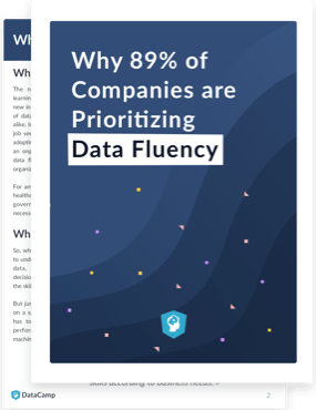 Cover of Why 89% of Companies are Prioritizing Data Fluency