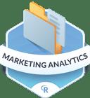 Illustration of the Marketing Analytics badge