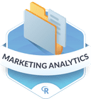 Illustration of the Marketing Analytics badge