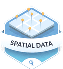 Illustration of the Spatial Data badge