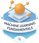 Illustration of the Machine Learning Fundamentals badge
