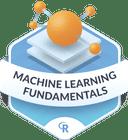 Illustration of the Machine Learning Fundamentals badge