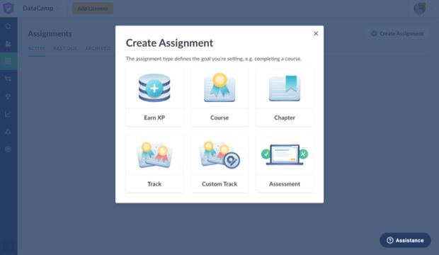 Create assignement UI